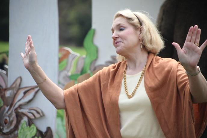 Joanna performing
