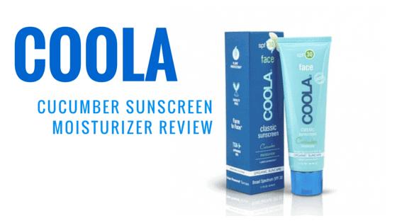Coola Cucumber Sunscreen Moisturizer Review