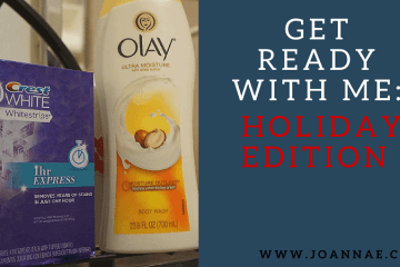 Get Ready With Me Holiday Edition
