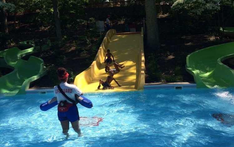 Splish Splash Kiddie Slides