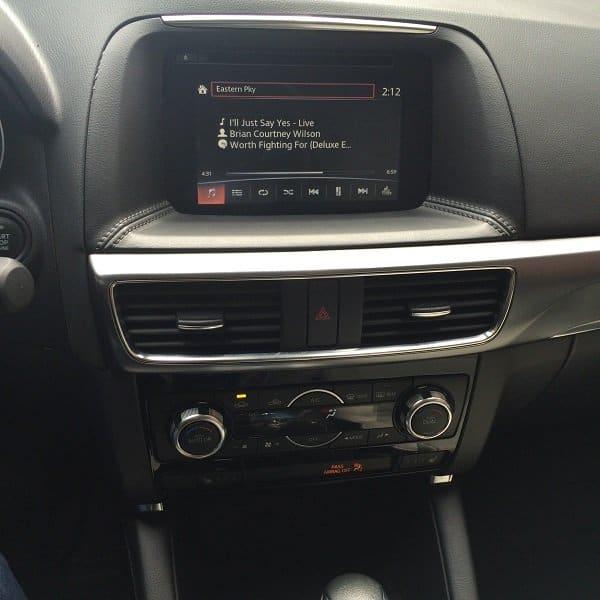 Mazda CX-5 Media console
