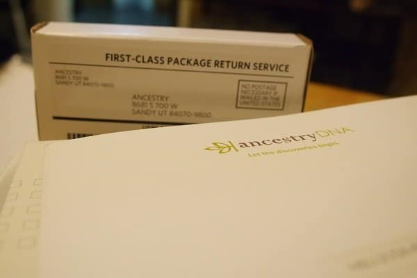 Ancestry DNA Package