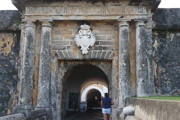 el Morro Entrance