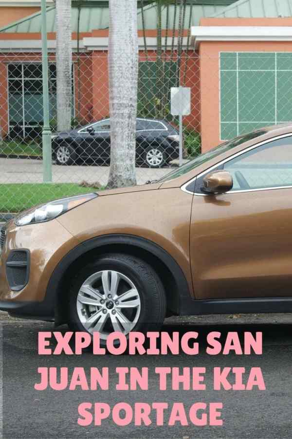 Exploring San Juan in the Kia Sportage