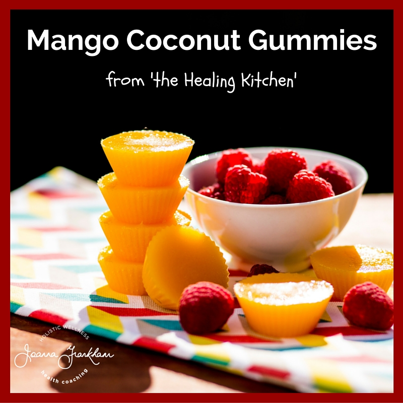 The Healing Kitchen Mango Gummies
