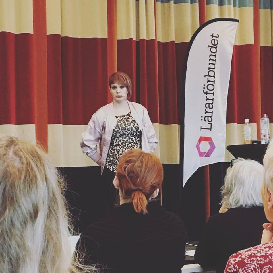 föreläsning om att leva med Aspergers syndrom