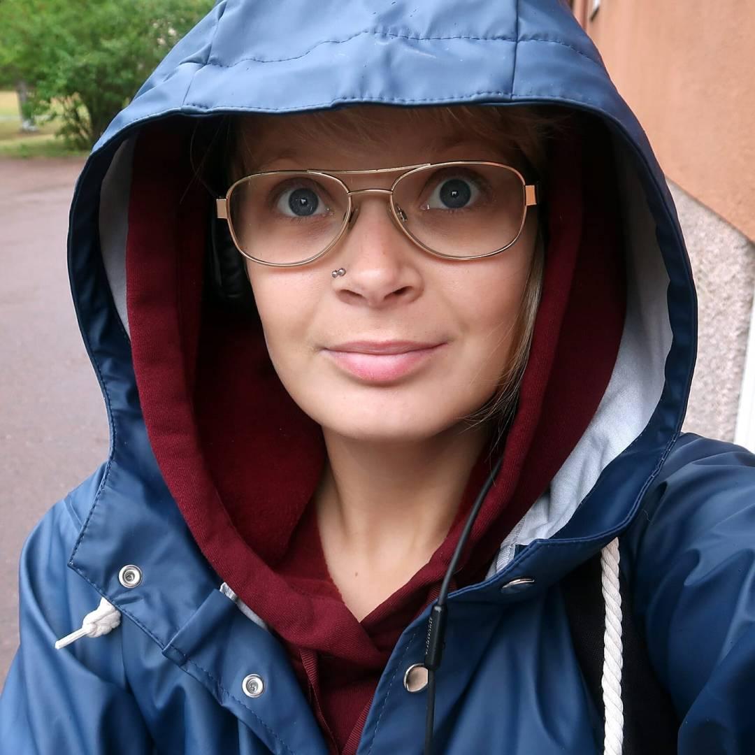 promenad i regnet