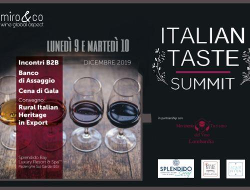 Italian Taste Summit 2019
