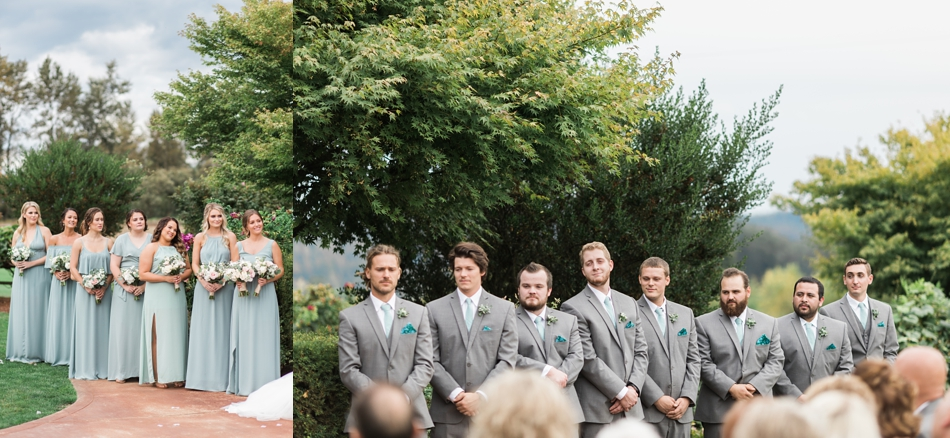 Photo of groomsmen at a Hidden Meadows Farms wedding in Snohomish, a rustic yet elegant wedding venue near Seattle.   Joanna Monger Photography