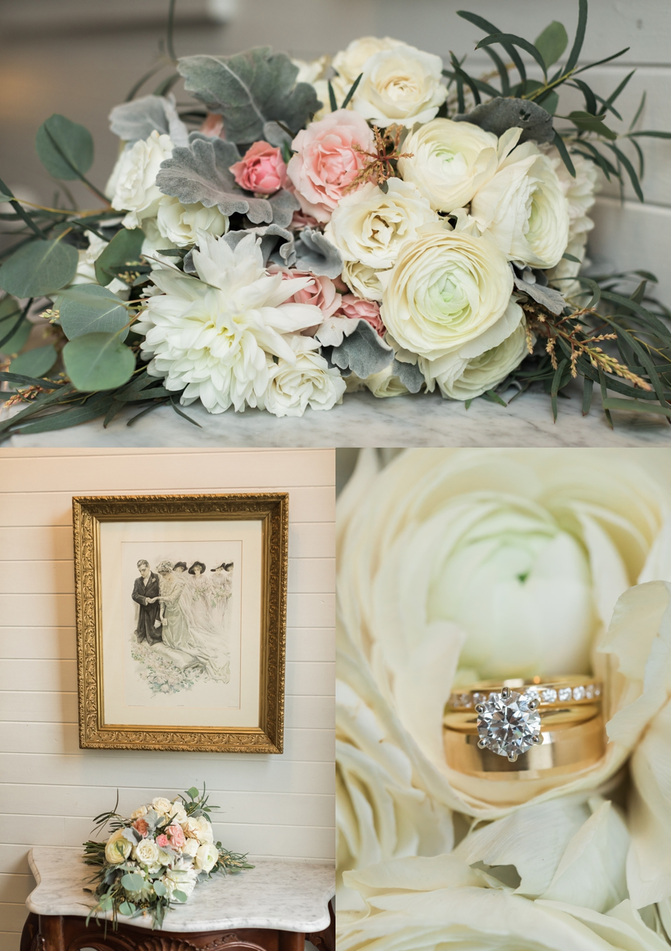 Photo of wedding details at an intimate wedding at Belle Chapel in Snohomish, a wedding venue near Seattle.   Joanna Monger Photography   Snohomish & Seattle Photographer