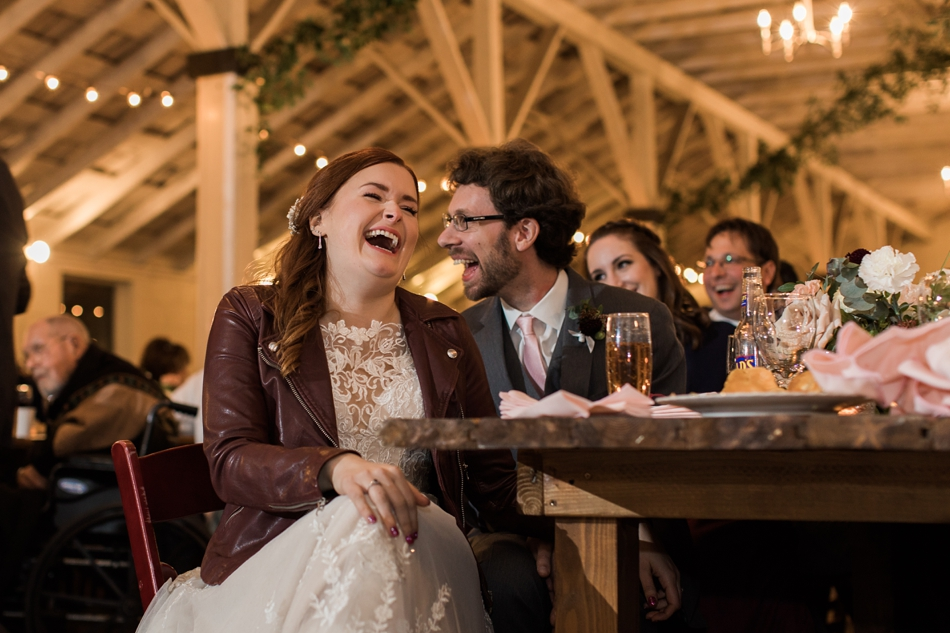Photo of reception at Snohomish Wedding Venue Dairyland Barn near Seattle | Joanna Monger Photography