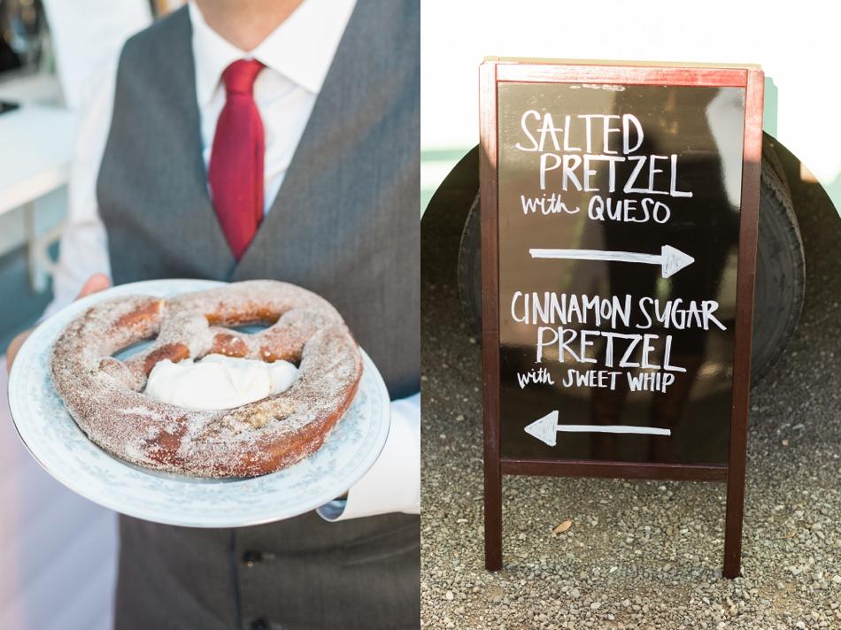 Photo of wedding food at Snohomish Wedding Venue Dairyland Barn near Seattle | Joanna Monger Photography