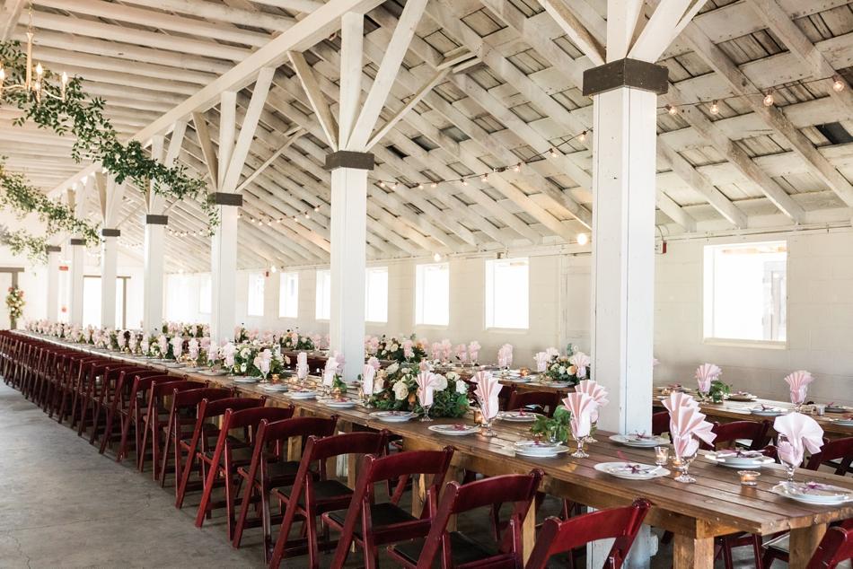 Photo of tableware Snohomish Wedding Venue Dairyland Barn near Seattle | Joanna Monger Photography