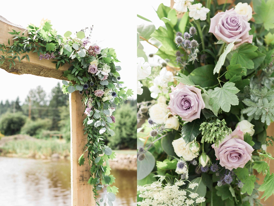 Lovely flower trellis at Pine Creek Nursery in Monroe. Photos by Joanna Monger Photography, Snohomish and Seattle Wedding Photographer.