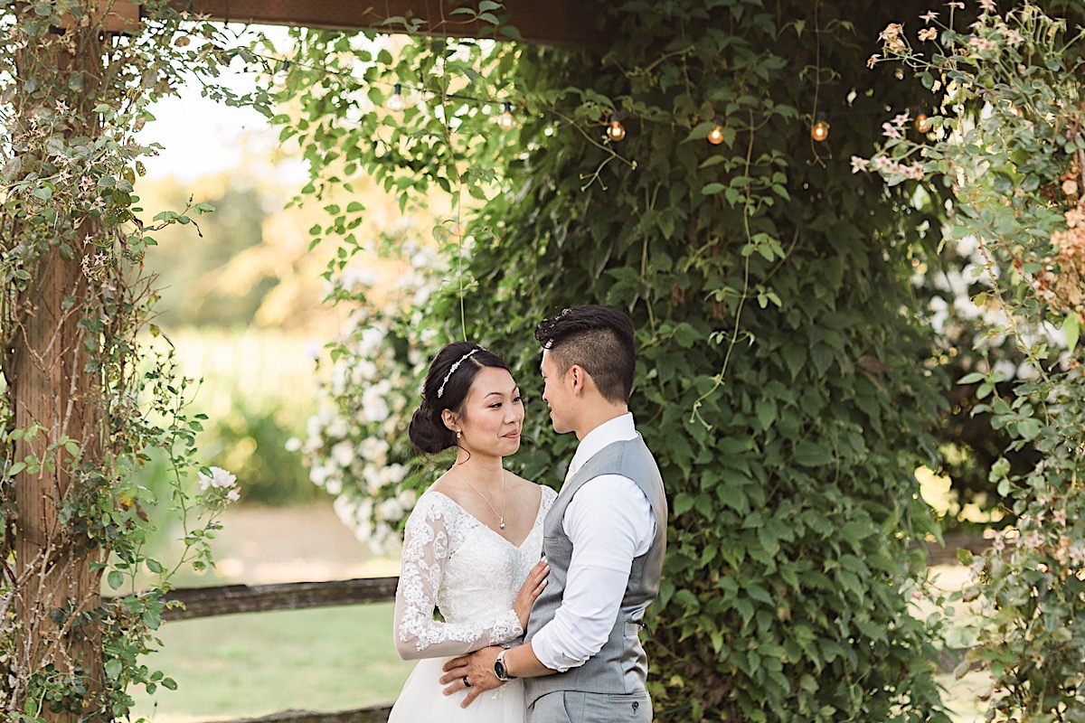 So in love at Craven Farms in Snohomish. Photographs by Joanna Monger Photography, Snohomish's Best Wedding Photographer.