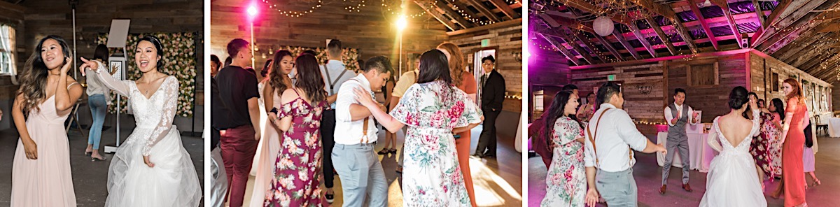 Boogeying down at Craven Farms in Snohomish. Photographs by Joanna Monger Photography, Snohomish's Best Wedding Photographer.