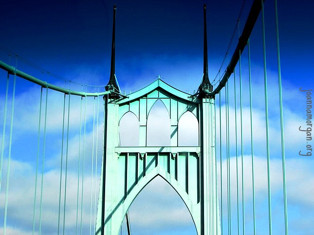 Difficulties Are Like Bridges by Joanna Morgan