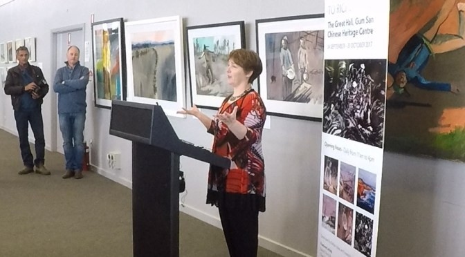 Speech at the Launch of the Hope: From Robe to Riches Art Exhibition
