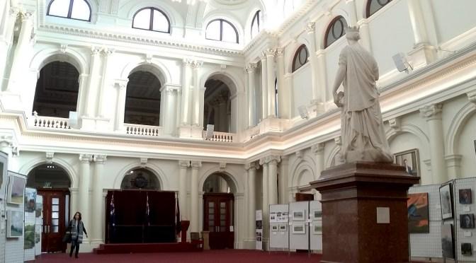 Mei Ling visits the Legislative Assembly
