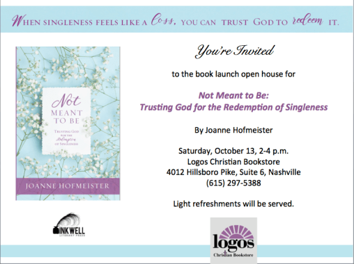 Book Launch at Logos Christian Bookstore