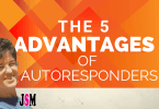 the 5 advantages of autoresponders