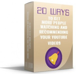 20 Ways To Get More People Watching
