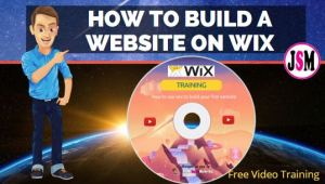 How to build a website on wix