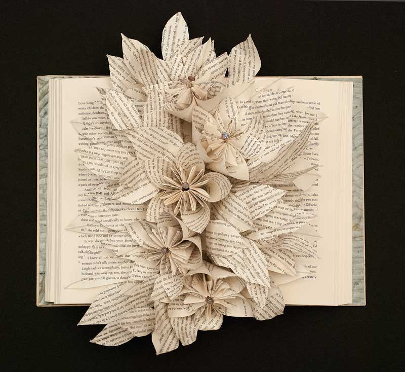 Altered Books Joan Wolbier Fine Art