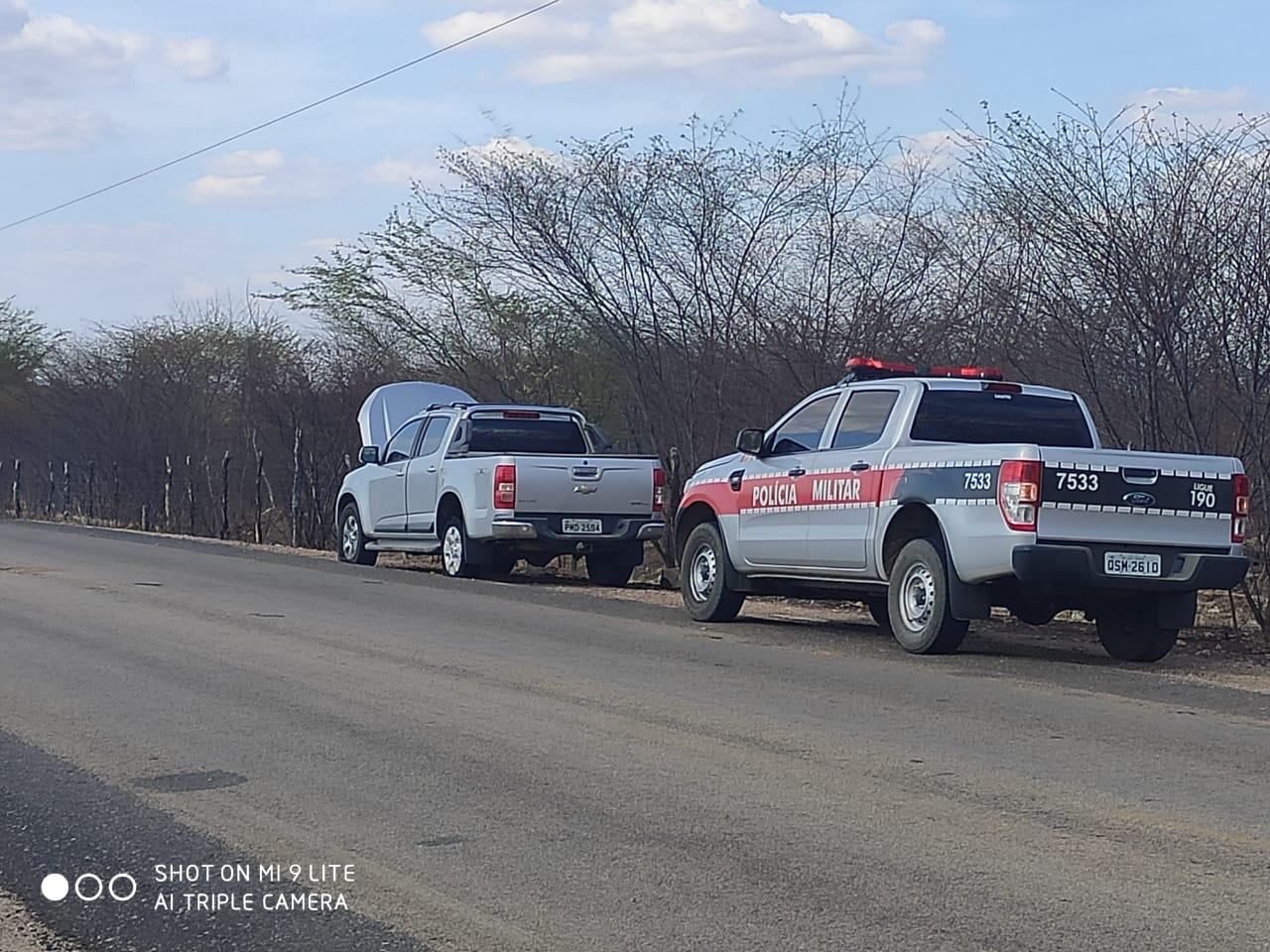POLÍCIA MILITAR RECUPERA MAIS UM VEÍCULO COM QUEIXA DE ROUBO NA ÁREA DO 12° BPM