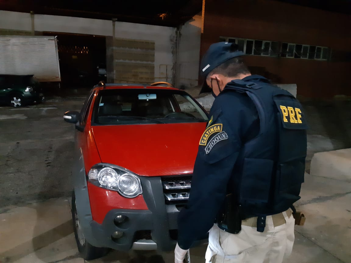PRF prende assaltante de banco em Santa Luzia/PB