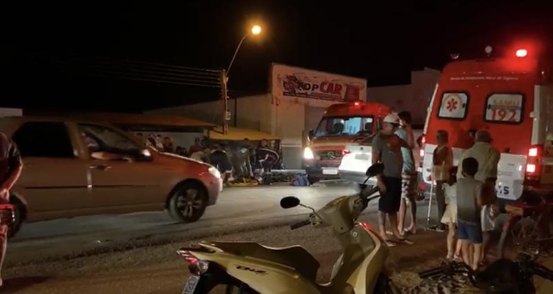 Na noite deste domingo (22), o Corpo de Bombeiros Militar da Paraíba, através da 2ªCBM/6º BBM, com sede em Pombal-PB, recebeu solicitação de atendimento a vítima de atropelamento.