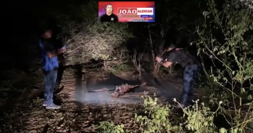 Ossada humana é encontrada na tarde deste domingo na Zona Rural de Pombal.