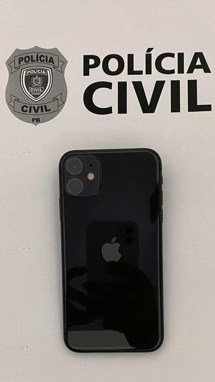 A POLÍCIA CIVIL DE PIANCÓ-PB EM CONJUNTO COM A POLÍCIA CIVIL DE BRASÍLIA-DF RECUPERAM UM IPHONE FURTADO EM BRASÍLIA E ENVIADO A PIANCÓ-PB