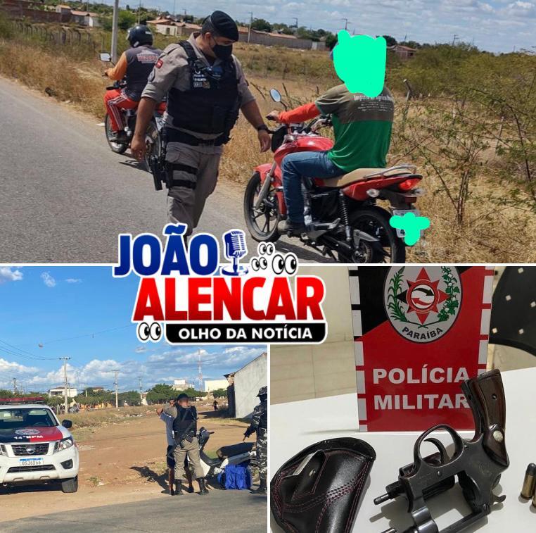 POLÍCIA MILITAR APREENDEU A SEGUNDA ARMA DE FOGO NA ÁREA DO 14º BPM DURANTE OPERAÇÃO PREVINA-SE