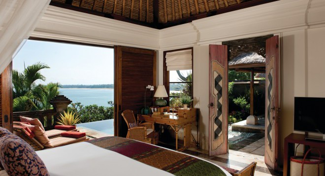 Four Seasons Hotel, Jimbaran Bay, Bali, Indonésia