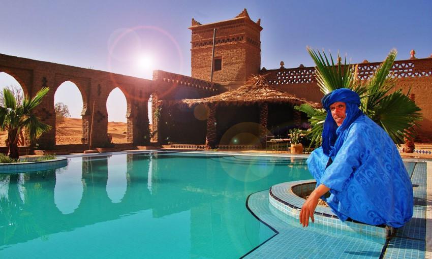 O melhor hotel do deserto!