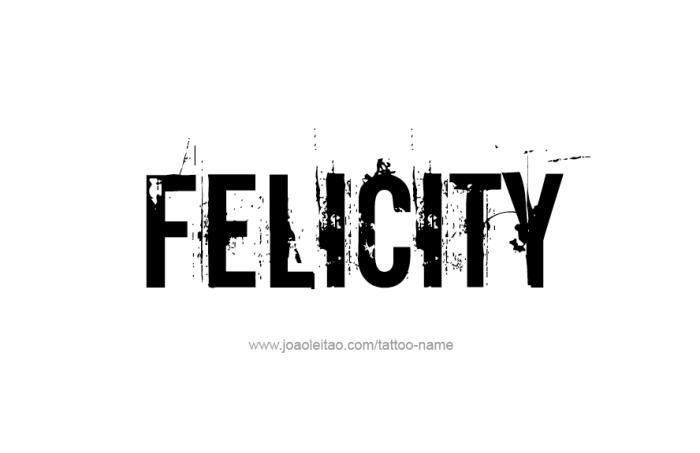 Felicity Design felicity name designs