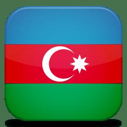 Bandeira Azerbaijao