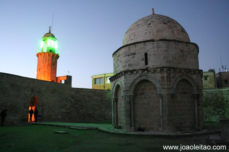 Capela da Ascensao de Jesus em Jerusalem