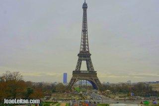 Fotografia da Torre Eiffel em França