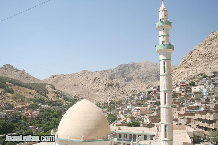 Vista da cidade de Aqrah, Visitar o Iraque