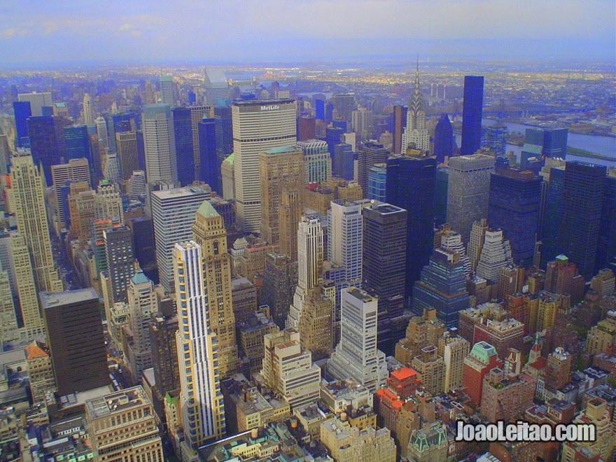Arranha-céus da Mid-Town em Manhattan - Nova Iorque