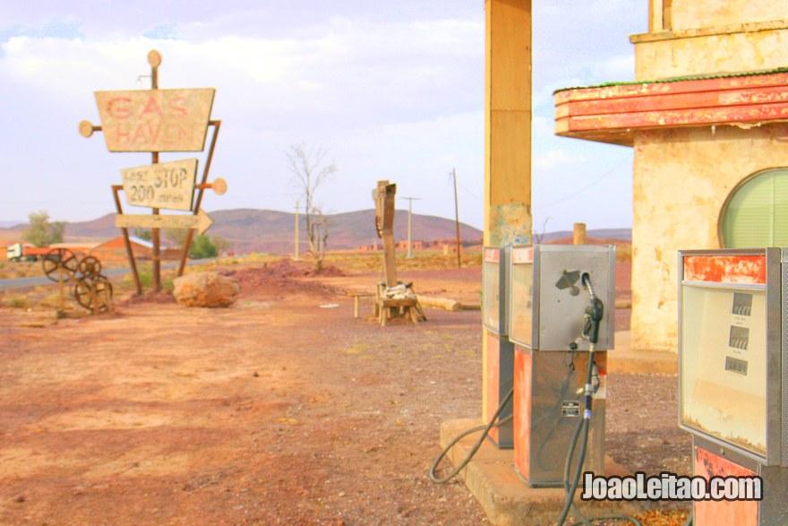 Cenário do filme The Hills Have Eyes filmado em 2006 na região de Ouarzazate