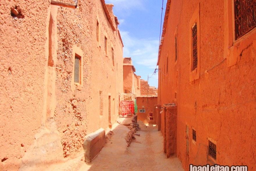 Bairro Tassoumaat em Ouarzazate