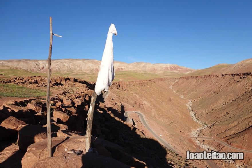Vale de Ounila na região de Ouarzazate