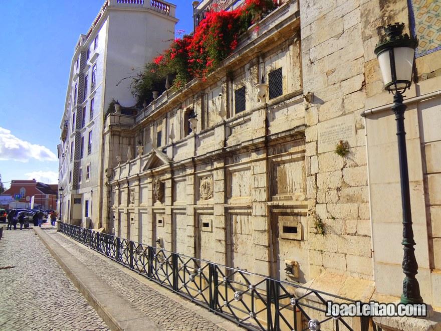 Foto do Chafariz D'El Rei em Lisboa