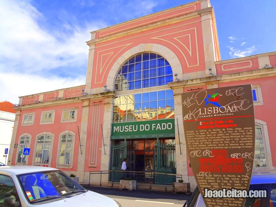 Foto do Museu do Fado em Lisboa