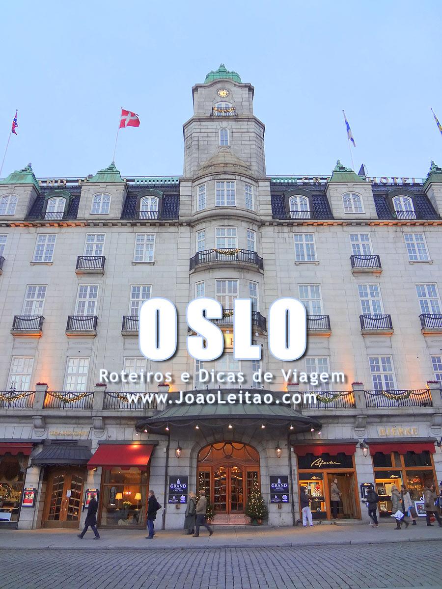 Visitar Oslo, Guia de Viagem - Dicas, Roteiros, Mapas, Fotos