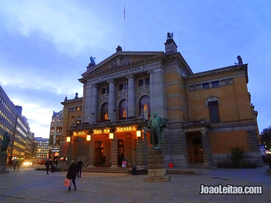 Teatro Nacional em Oslo