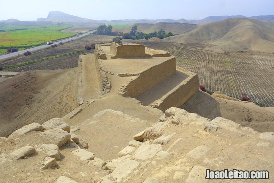 Fortress of Paramonga Peru